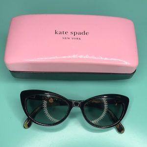 "Kate Spade ""Analena"" Cat Eye Tortoise Sunglasses"